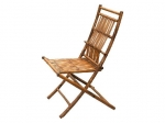 Curved Back Folding Chair