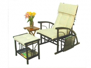 China Chaise Longue with Shelf Footrest on sale