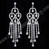 Rhinestone Jewelry Rhinestone chandelier earrings $2.95~4