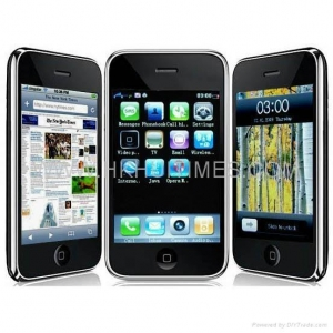 China Copy iPhone 3Gs F003 TV wifi dual cards mobile phone on sale