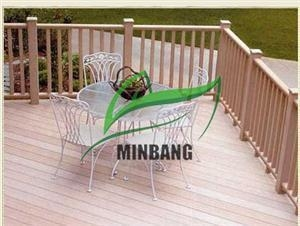 China Easy Assembling WPC Gardening Railing supplier