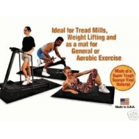 China EXERCISE FITNESS EQUIPMENT MAT 3'x6'6x1/4 PEBBLED on sale