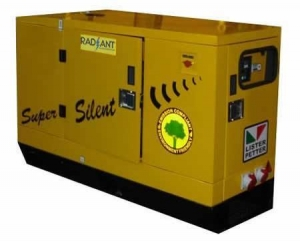 China Silent Gensets 7.5 kVA to 30 kVA Powered by Lister Petter Engine on sale