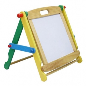China Magnetic chalk/dry erase easel FP74183035 on sale