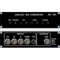 Professional Video VideoSolutions AS-103 Analog-SDI Converter PAL/SECAM