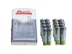 China High Capacity Rechargeable 1.2V Batteries - NiMH AA 2700mAh on sale