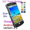 China H3000 Android 2.2 Unlocked Dual SIM Wifi GPS Copy Cell Phone for sale
