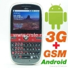 China low price WCDMA 3G QWERT Full-keyboard android cellphone for sale