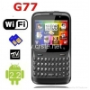 China Dual sim Cards with Android 2.2 Wifi Analog TV Java QWERTY Keyboard for sale