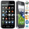 China Dual sim android 2.2 with GPS/WIFI/TV 4.3 inch touch screen phone for sale