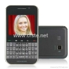 China Cheap Unlocked QWERTY Android 2.3 Dual sim WIFI at&t Cell phone GPS TV Mobile for sale
