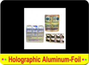 China HOLOGRAPHIC ALUMINIUM FOIL on sale