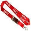 China Lanyard with LCD Solar flashing badge on sale