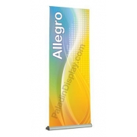 Banner Stands Allegro Retractable Banner Stand