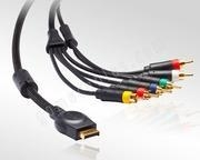 China PS2/PS3 Component Video Cable on sale