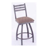 Kitchen and Dining (HB110C) Ladderback Swivel Cushion Stool