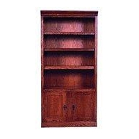 "Office (FD6102DM) 24"", 36"" and 48"" Wide Mission Bookcases with Lower Doors"