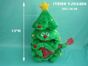 China ANIMATED SINGING XMAS TREE on sale