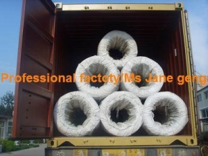 China Electro galvanized iron wire big coil on sale