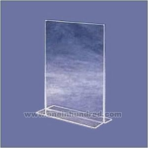 China 8 x 11 - Vertical bottom loading T style sign holders on sale