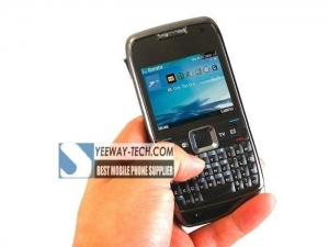 China Nokia E71 copy WIFI TV (SECAM) quad band dual SIM cards unlocked made in finland on sale