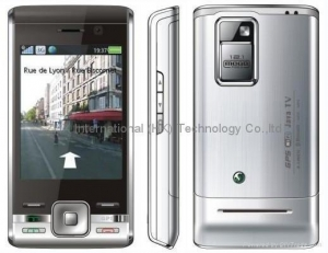 China China Copy SE T715 pda GPS/WIFI/Analog TV/Java GSM Quad-band unlocked phone on sale