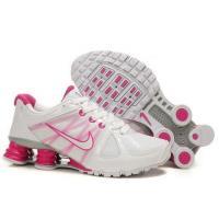 China Womens Nike Shox R6 II 2011 White Pink on sale