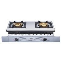 China Gas Hobs/Stoves Double-burner Gas Hob/Stove (Built-in Model, W/Overheating Preventer) on sale