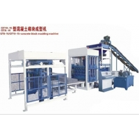 QT8-15 concrete block molding machine