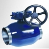 China fully welded ball valve for sale
