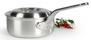 China Denmark 2 QT. Pro Chef Aluminum Non-Stick Covered Saucepan on sale