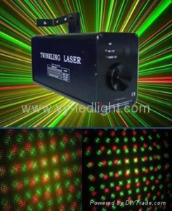 China Laser lighting Twinkling Laser RGY Stage Light on sale