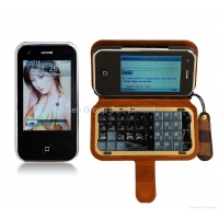 T2000 Qwerty Quad Band Mobile Phone with WIFI Analog TV J3000 T3000 m011