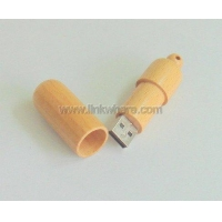 Cylindrical Wooden 1Gb cylindrical