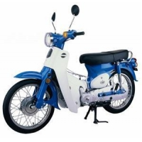 China 50CC EEC Blue Cub Motorcycle on sale