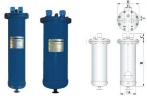 China CE Products Series Refrigerant Oil Separators ( Demountable ) on sale