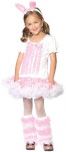 China Toddler and Girls Fluffy Bunny Costume on sale