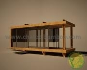 China Prefab-House in Bamboo on sale