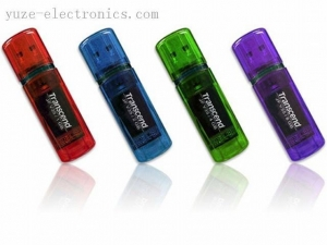 China Brand USB FLash Drives Transcend USB-V30 Transcend USB Flash Drives on sale