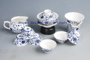 China Porcelain Gongfu Tea Set [37] on sale