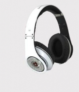 China Monster Beats by Dr. Dre Studio Headphones White Diamond on sale