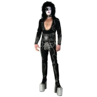 All KISS Costumes Authentic Adult Starchild Destroyer Costume