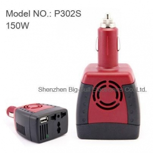 China 150W Car DC 12V to AC 220V Power Inverter Adapter on sale