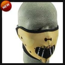 China Neoprene Face Masks Half Hannible Neoprene Face Mask on sale