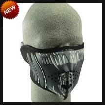 China Neoprene Face Masks Half Alien Neoprene Face Mask on sale
