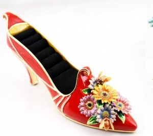 China Shoes shape jewelry box on sale