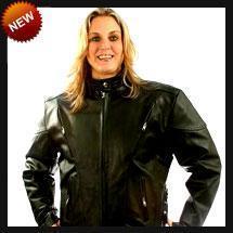 China Biker Leather Ladies Black Leather Motorcycle Jacket on sale
