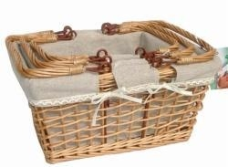 China wicker/willow picnic basket,willow basket on sale