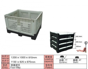 China Collapsible Pallet Containers on sale