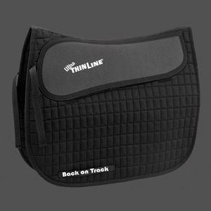 China English Saddle Pads Ultra ThinLine Half Pad on sale